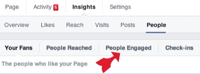 How to find Insights for Facebook audience engaged with your posts