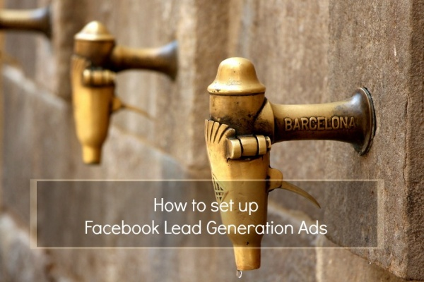 Facebook lead generation adverts banner