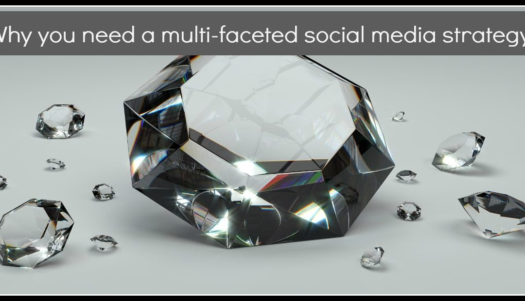 Why you need a multi-faceted social media strategy