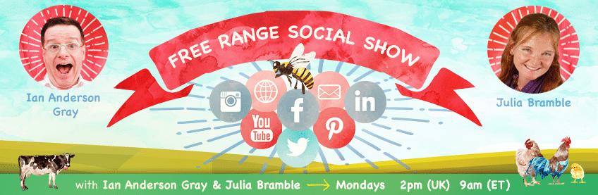 Facebook Live show discussing social media