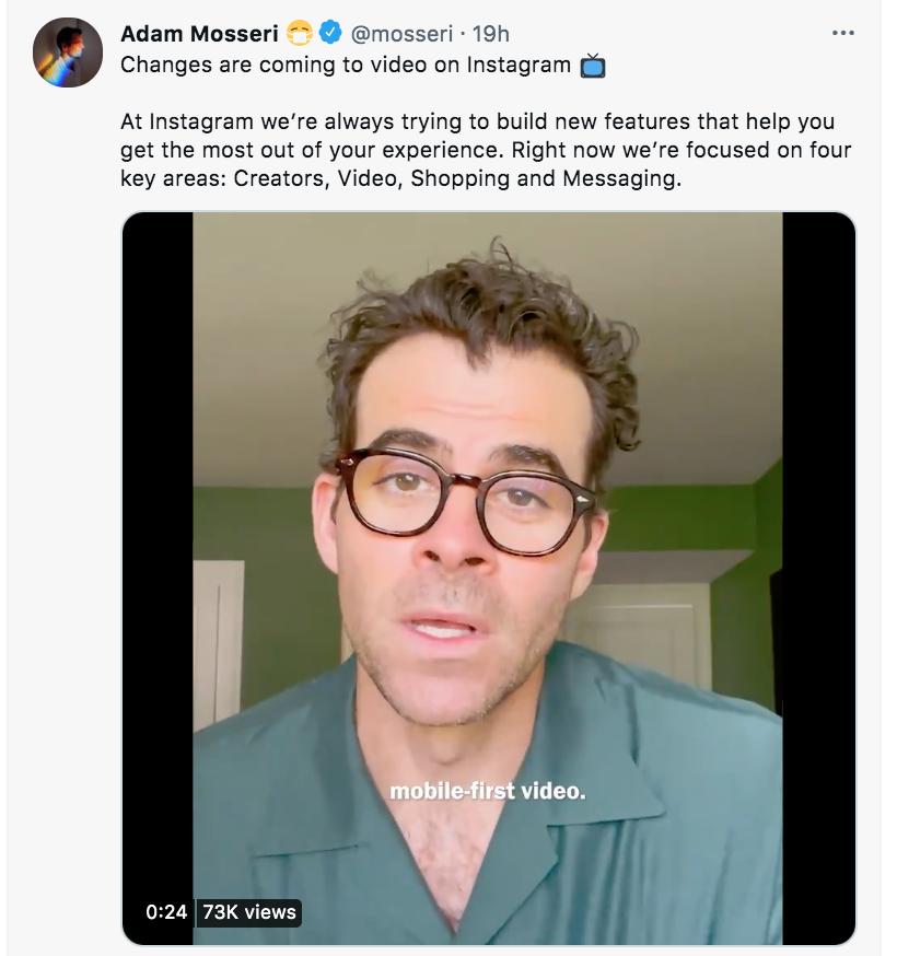 Video about Instagram Reels